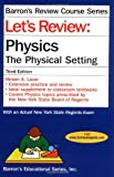 Let's Review Physics, Miriam A. Lazar, 0764126857