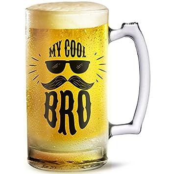 Ramposh Beer Glass Mug For Brother Birthday Gift Sister