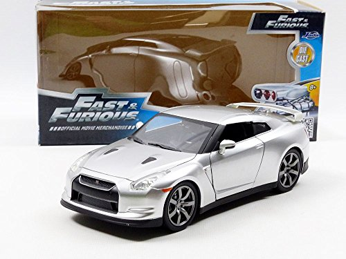 Fast & Furious '09 Nissan R35 Vehicle 1:24 Diecast By Jada Toys 7