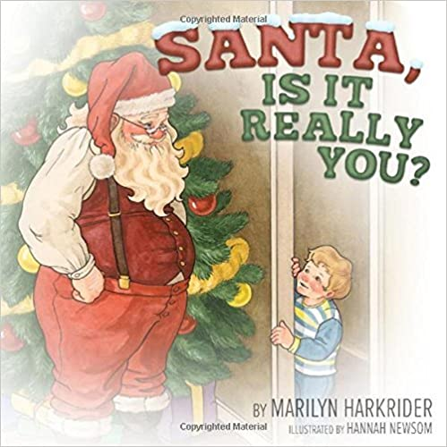 Santa, Is It Really You? by Marilyn Harkrider (2014-09-30)