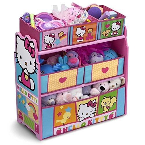 Delta Children Hello Kitty Multi Bin Toy Organize