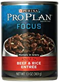 Purina Pro Plan Canned Beef and Rice Morsels Food, 13 oz. Review