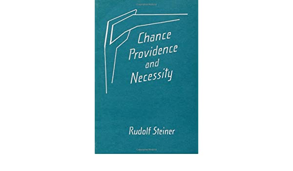 Reviews for the book Chance, providence and necessity