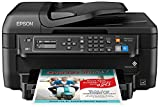 Epson WF-2750 All-in-One Wireless Color Printer with Scanner, Copier & Fax, Amazon Dash...