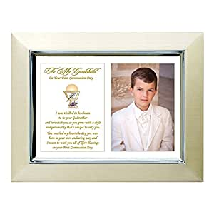 Amazon Com First Communion Gift For Godchild From