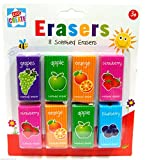 Kids Create Pack of 8 Scented Erasers