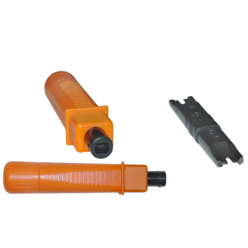 C&E Punch Down Tool with Impact Adjustment Includes 110/88 Blade (CNE43941)