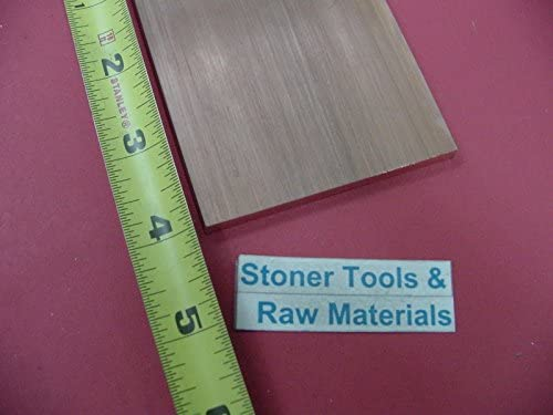 "1/4""x 3"" C110 COPPER BAR 4"" long Solid Flat Bar .250""x 3.00"" Mill Bar Stock H04"