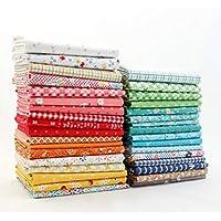 Riley Blake Farm Girl Vintage Fat Eighth Bundle (33 pcs) by Lori Holt 9 x 21 inches (22.86cm x 53.34cm) Fabric cuts DIY…