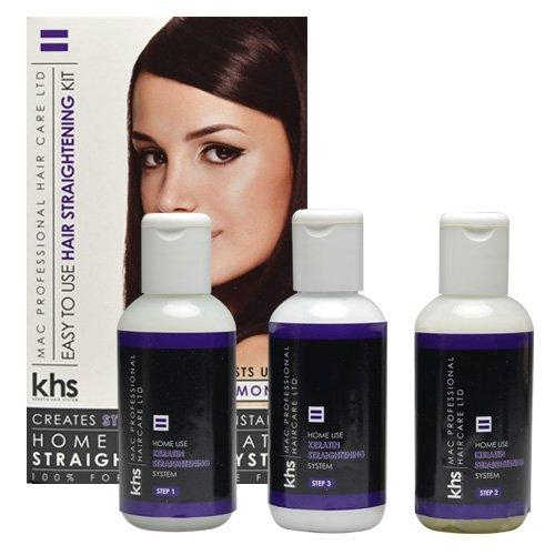 Keratin Hair System, Trattamento lisciante per capelli in 3 fasi MST0310