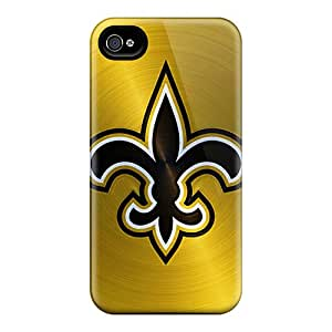 New New Orleans Saints Tpu Case Cover, Anti-scratch BabyCat Phone Case For Iphone 4/4s