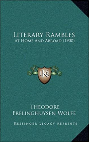 Book Literary Rambles: At Home and Abroad (1900)