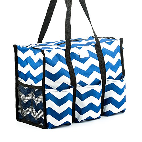 Pursetti Teacher Tote Navy