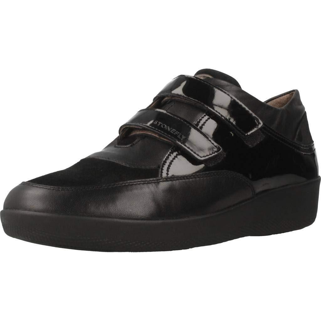 Stonefly Sneaker Donna Marrone in Pelle con Strappo  Amazon.it  Scarpe e  borse 0cf97326ab7