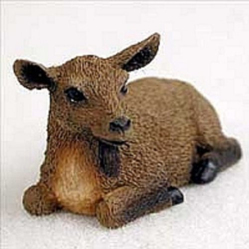 Brown Tiny One Figurine - Goat Brown Tiny One Figurine