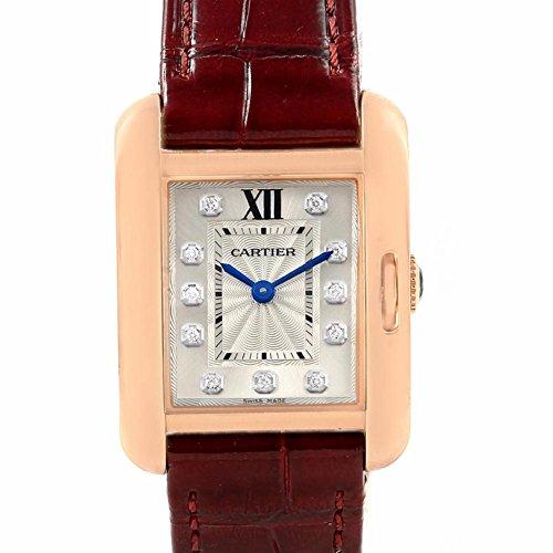 Cartier Tank Anglaise quartz womens Watch WJTA0007 (Certified Pre-owned)
