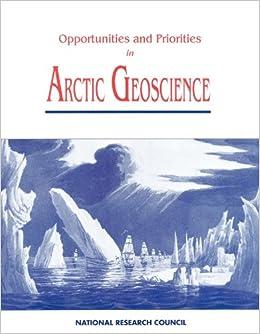 Opportunities and Priorities in Arctic Geoscience
