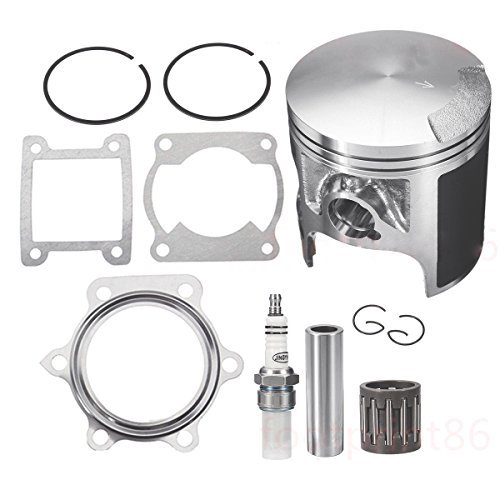 For Yamaha 1988-2006 Blaster 200 YFS200 Piston Gasket Piston Rings Top End Kit (Fits: Yamaha Blaster 200 YFS200)