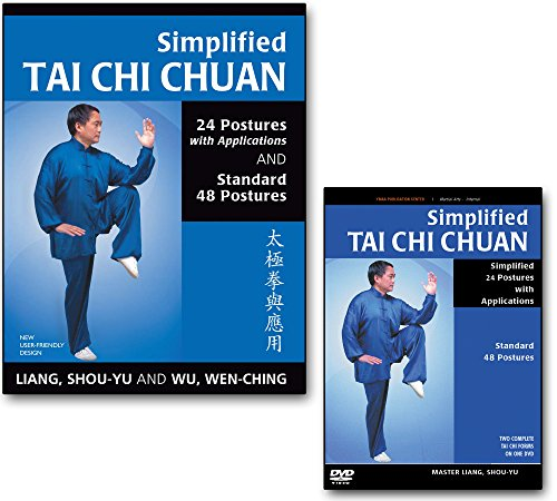 - Bundle: Simplified Tai Chi DVD and book for Beginners (YMAA) Tai Chi Exercise by Liang, Shou-Yu