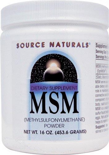 Source Naturals MSM Powder -- 16 oz - 3PC