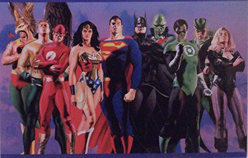 Justice League of America, by Alex Ross Matted Ltd. from DC Comics