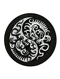 Extreme Largeness Yin Yang Dragon Patch