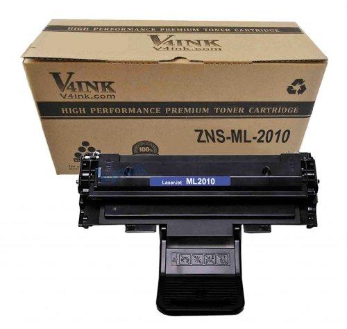 1 Pack V4INK ® New Compatible Samsung ML-2010£¨ML-2010D3)Toner Cartridge-Black for Samsung ML2010/2010D3/2010P2010PR/2010R, Office Central