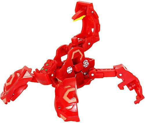 Bakugan New Vestroia Trap Metalfencer Pyrus (Red)