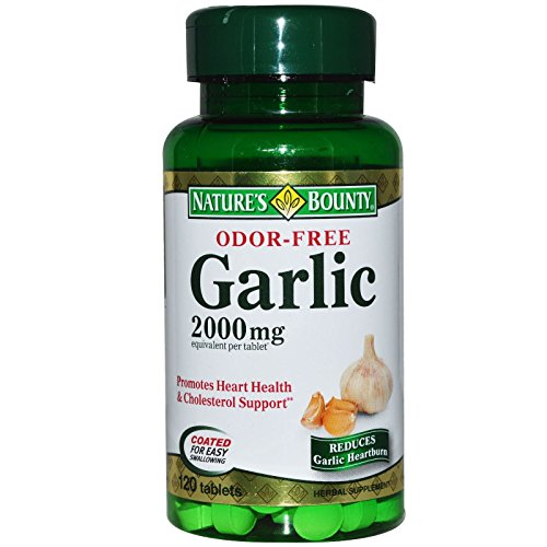 Garlic 2000mg Odorless Bounty Tablets