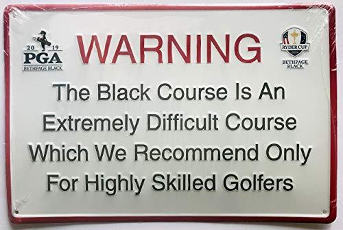 2019 Pga Championship pub bar Sign bethpage black course ryder cup new