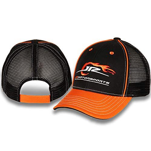 NASCAR Youth Jr. Motorsports Black and Orange Hat with Black Mesh Back
