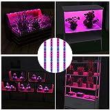 HRDJ LED Grow Light Strips, 4Pcs 1.6ft/Strip
