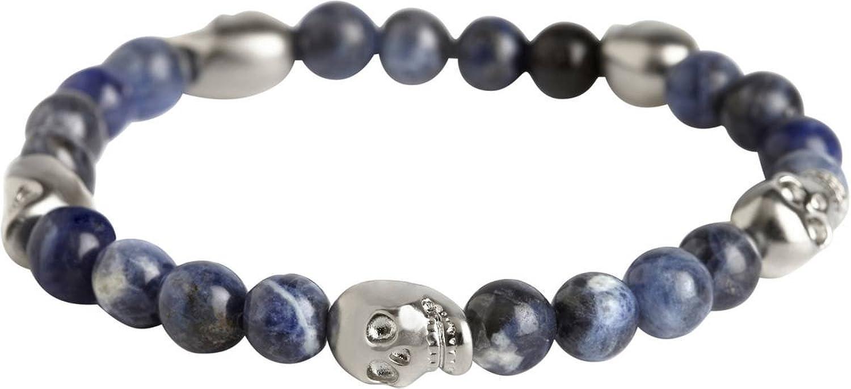 Bracelet à perles de crâne Bleu Sodalite de Simon Carter  Amazon.fr   Vêtements et accessoires 4a1c9e719f73