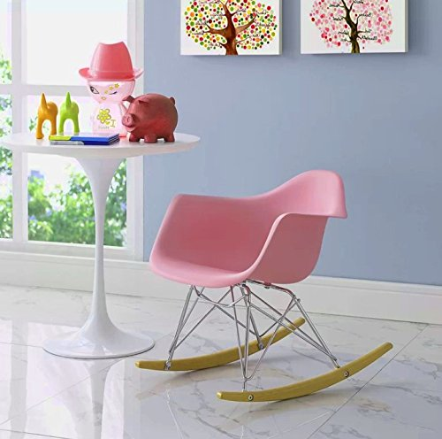 Huge Comfy Chair, Vivid Pink Color, Durable And High Resistant Construction, Lightweight, An Attractive And Modern Design, Eye-Catcing, Portable, Ideal For Kids, Perfect Lounge, Easy Setup & E-Book.