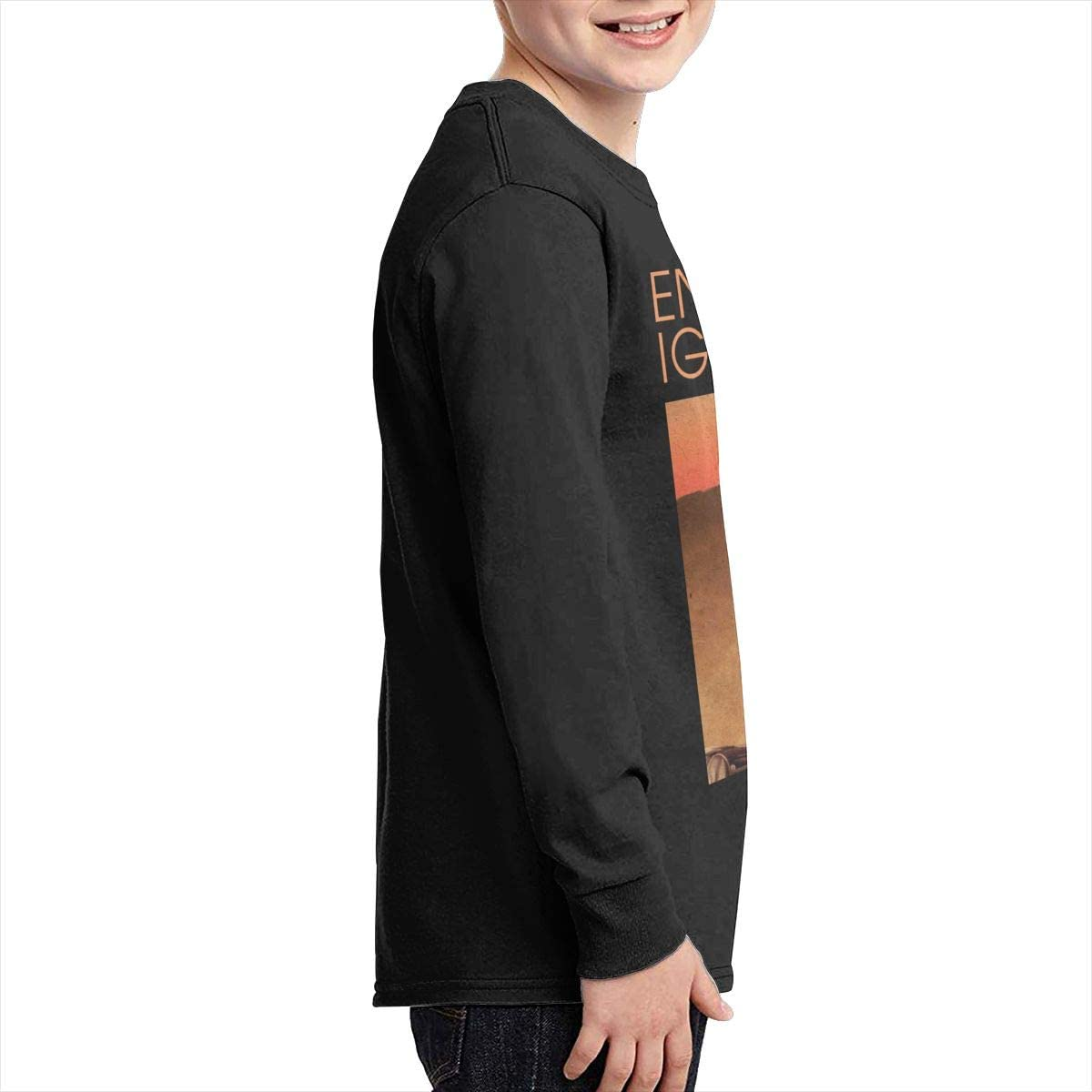 MichaelHazzard Enrique Iglesias Youth Breathable Long Sleeve Crewneck Tee T-Shirt for Boys and Girls