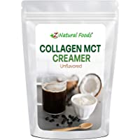 Collagen MCT Oil Creamer - Unflavored - For Coffee, Tea, Shakes & Smoothies - Perfect for Cooking or Baking Recipes…