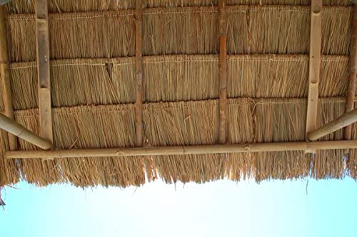 Lote de 10 panels natural para tejado de palma (115 cm) tejado ...