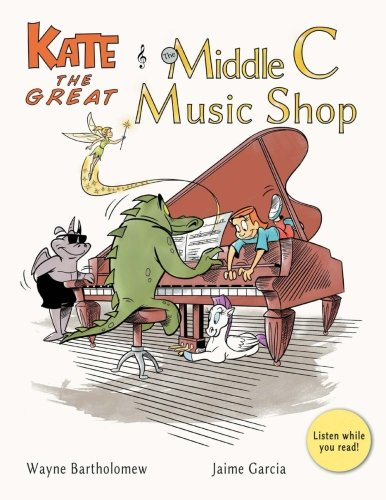 Kate the Titanic and the Middle C Music Shop (Kate the Great Picture Books) (Volume 1)