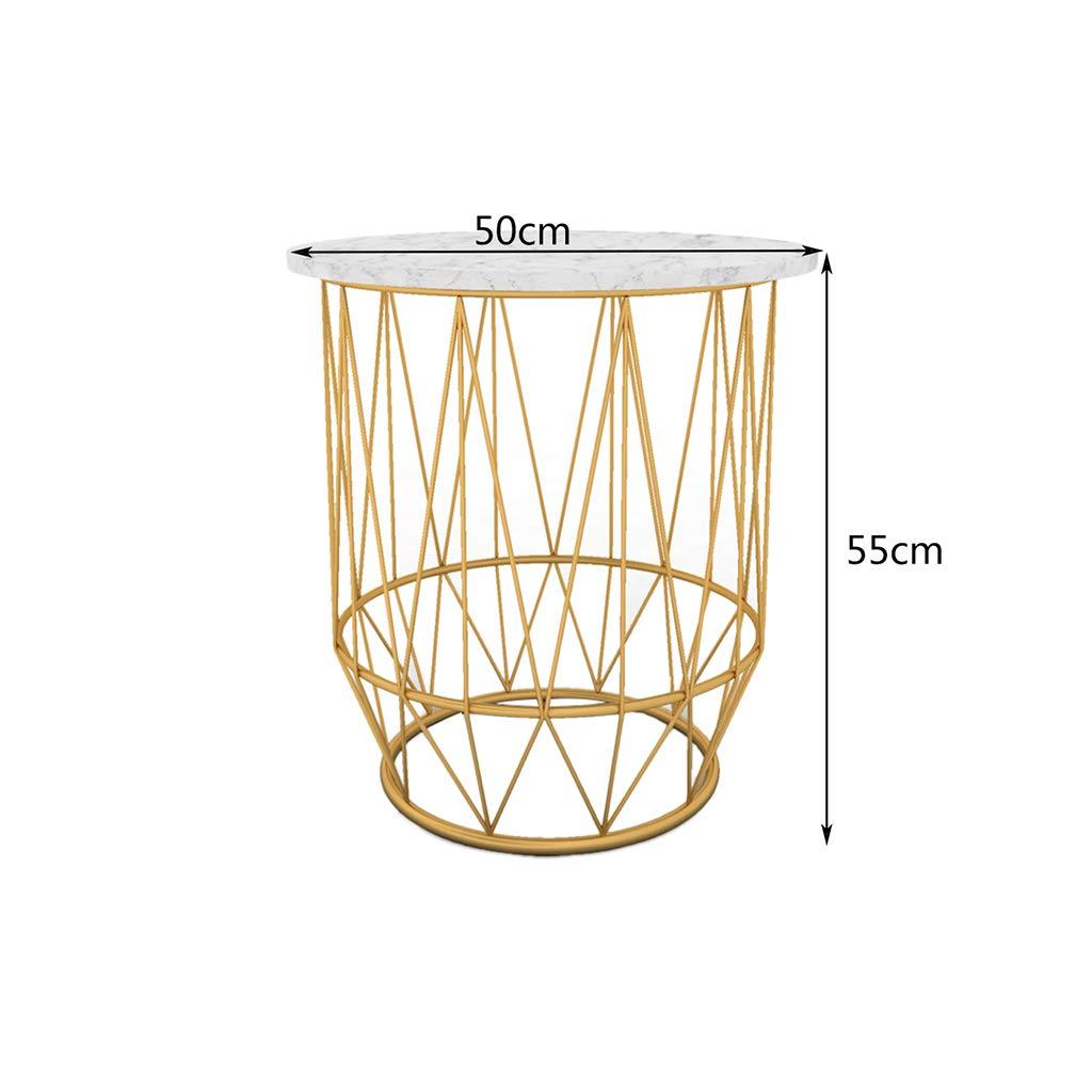 Enjoyable Amazon Com Csq Creative Marble Side Table Household Gold Interior Design Ideas Helimdqseriescom