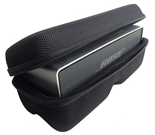 CASEBUDi Tough Speaker Case | Made for Bose SoundLink Mini and Mini 2 | Black Ballistic Nylon