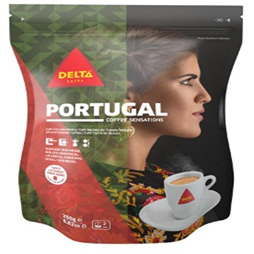 Delta Ground Roasted Coffee PORTUGAL for Espresso Machine or Bag 250g