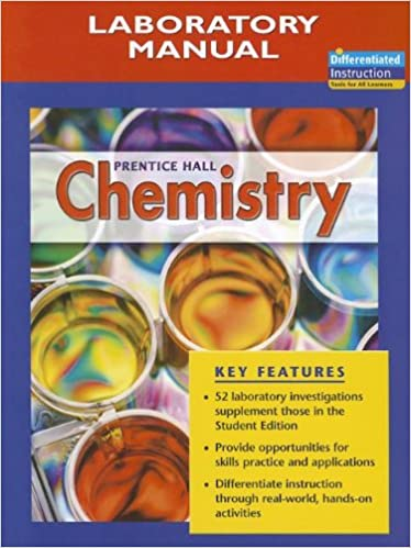 Chemistry Laboratory Manual 9780131903593
