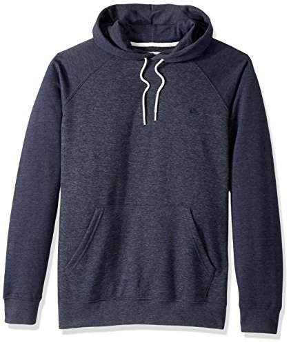 Quiksilver Pullover Sweatshirt - Quiksilver Men's Everyday Hood Pullover Sweatshirt, Navy Blazer Heather, L