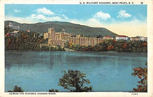 West Point New York Military Academy Waterfront Antique Postcard K95830