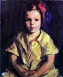 Robert Henri Portrait of Faith - 20'' x 25'' 100% Hand Painted Oil Painting Reproduction