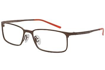 215c09250ac Image Unavailable. Image not available for. Color  Porsche Design Men s  Eyeglasses P 8254 P8254 D Brown Full Rim Optical Frame 55MM