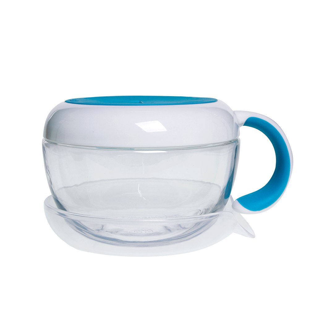 OXO Tot Flippy Snack Cup with Travel Lid - Aqua