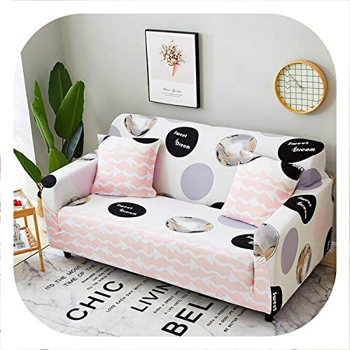 HANBINGPO One/Two/Three/Four Seat Sofa Cover Elastic Universal Corner Couch Cover Sectional L Shaped Cubre Sofa Covers 1/2/3/4 Seater,GL-4,3 Seat