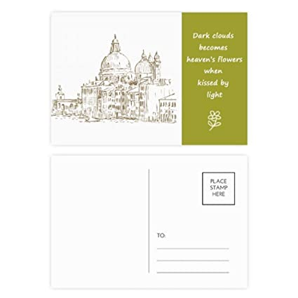 Amazon com : Russia House Landmark Sketch Landscape Poetry