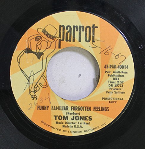 Tom Jones - Funny Familiar Forgotten Feelings - Zortam Music
